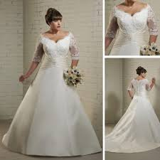incredible in addition to stunning 3 4 sleeve wedding dress plus