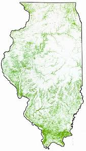 Illinois forestry association map 2000
