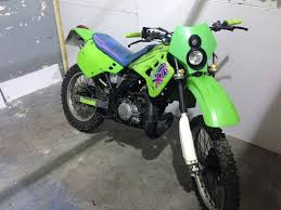 kdx 125cc 1990 road legal kx 125 learner legal cbt not ktm yz cr