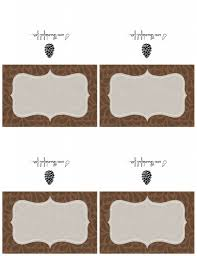 thanksgiving name card holders 100 place card templates custom card template diy place cards