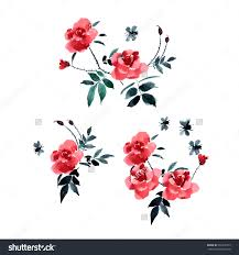 Japanese Flower Artwork - image gallery japanese flower painting