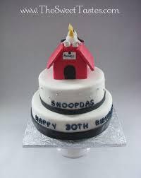 snoopy birthday cake cake by thesweettastes cakesdecor