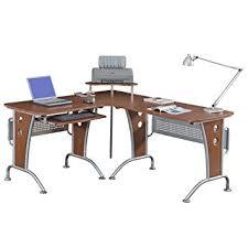 Mezza L Shaped Desk Amazon Com Vip Suite Ergonomic Corner L Shaped Computer Desk