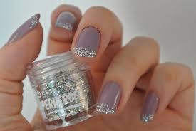 purple u0026 glitter french manicure nail polish in my eyes