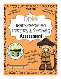 4th grade ohio transportation u0026 timeline assessment revised ohio