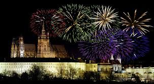spend the new year abroad fireworks displays charles bridge and