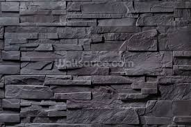stone wall charcoal grey wallpaper wall mural wallsauce canada save your design for later