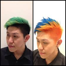 manic panic hair colour by sio from cleo hair u0026 make singapore