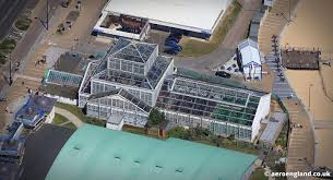 aeroengland aerial photograph of the winter gardens in great