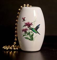 hummingbird fan pull chains hummingbird porcelain fan light pull ceiling fan pull chain
