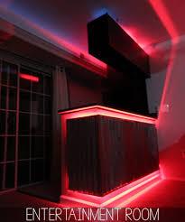 red led lighting system home entertainment room led lighting