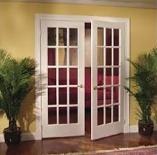 Interior Doors With Frames Double French Doors Glass Interior Is Separated By A Number Of