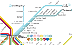 Marta Subway Map by Transit Maps