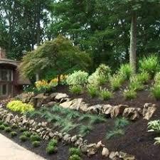 Landscape Design Backyard by Landscape Design Ideas For Sloped Backyard Backyard Landscaping