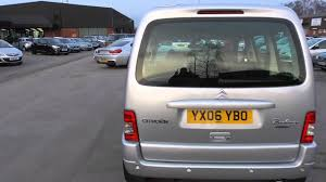 citroen berlingo multispace 1 6 diesel desire 5 door estate manual