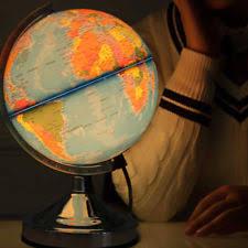 earth globes that light up antique world worlds globes ebay