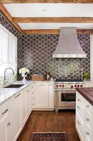 Light Brown Ceramic Kitchen Backsplash Tiles Design Ideas - Brown tile backsplash