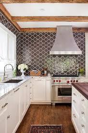 moroccan tiles kitchen backsplash kitchen with brown moroccan tiles backsplash transitional kitchen