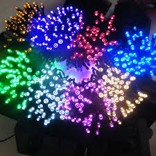 solar powered string lights 100 led white light indoor outdoor wedding christmas party solar