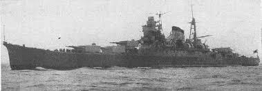 Japanese cruiser Kumano