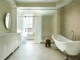 master bathroom with clawfoot tub a wide curved ceramic clawfoot