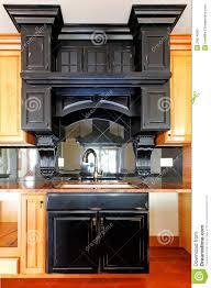 kitchen island and stove custom wood cabinets new luxury home