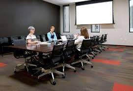 library is central public hub for business meetings training and