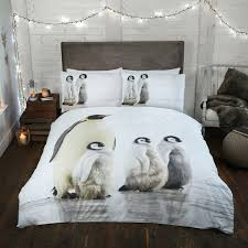 Amazon Duvet Sets Penguin Easy Care Christmas Duvet Set Christmas Duvet Covers