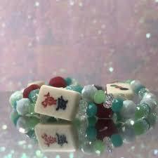 diy mah jongg bone tile bracelet tutorial with where the winds blow