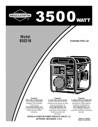 portable generator users guides