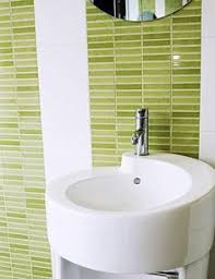Green Bathroom Ideas by 35 Lime Green Bathroom Wall Tiles Ideas And Pictures Bathroom
