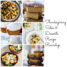 thanksgiving sides and desserts recipe roundup