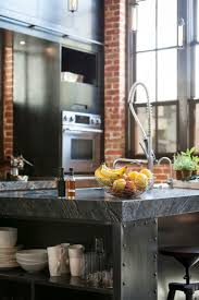 metallic kitchen cabinets concrete kitchen cabinet with granite countertop equipped with