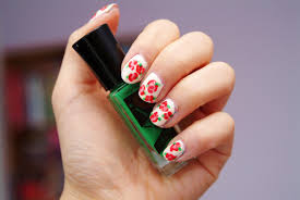fun size beauty valentine u0027s day nail art 3 roses for the