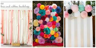 wedding backdrop on a budget budget busy