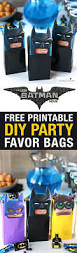 party city halloween treat bags the lego batman movie diy party treat bags free printable favor bags