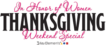 thanksgiving weekend sale products 3 key elements