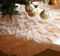 Unique Ideas For Christmas Tree Skirts by Two Creative Christmas Tree Skirts Mitzi U0027s Miscellany