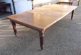 3 Metre Dining Table Large Oak Extending Dining Table Late 19th Century