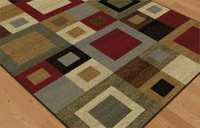 Multi Color Area Rugs Multi Color Squares Contemporary Cubes Geometric Abstract Blocks