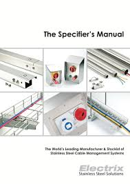 electrix the specifier u0027s manual 2015 1st edition
