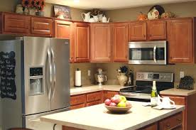 Decorations On Top Of Kitchen Cabinets Cabinet Top Decor Best Above Kitchen Cabinets Ideas On Above