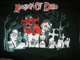 halloween monster background thrash metal heavy death black dark evil poster grave graveyard