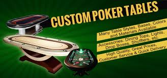 Custom Poker Tables Custom Poker Tables Blackjack Craps Tables Chairs U0026 Ceramic Poker