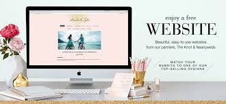 free personal wedding websites get a free wedding website for your wedding and planning it can