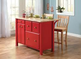 red kitchen island cart red kitchen island cart with breakfast bar the clayton design