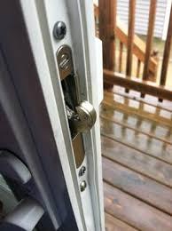 Patio Door Lock Installation Sliding Glass Door Locks Can Be Replaced Heres How