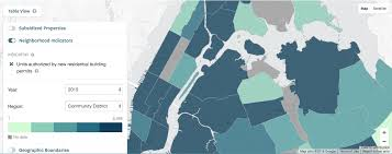New York Boroughs Map by Track Affordable Housing Across Nyc With This New Map And Data
