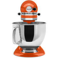 5 Quart Kitchenaid Mixer by Shop Kitchenaid Artisan Series 5 Quart 10 Speed Persimmon