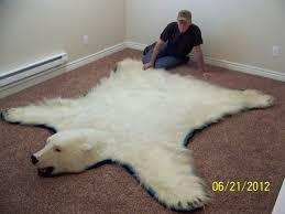 polar bear skin rug for sale roselawnlutheran